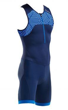 2XU Active Ärmellos Trisuit Blau Herren MT5540d