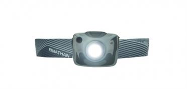 Nathan Nebula Fire crossover Stirnlampe Grau