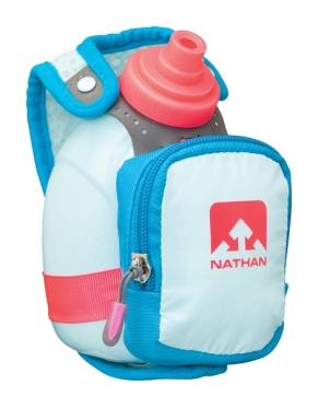 Nathan Quickshot plus Handflaschen Blau/Rosa