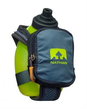 Nathan Quickshot plus Handflaschen Grün/Blau