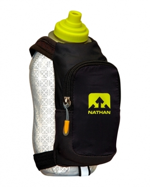 Nathan SpeedDraw Plus Insulated Handflaschen Schwarz