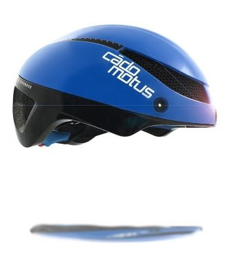 Cádomotus Omega Aerospeed Helm Blau