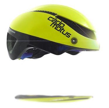 Cádomotus Omega Aerospeed Helm Fluo Gelb