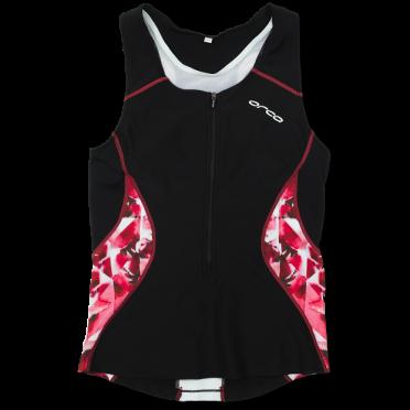 Orca Core tri top Schwarz/rosa Damen