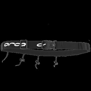 Orca Race Nummer Gürtel mit Gel Loops Schwarz