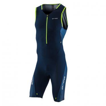 Orca 226 Kompress race trisuit ärmellos Blau Herren