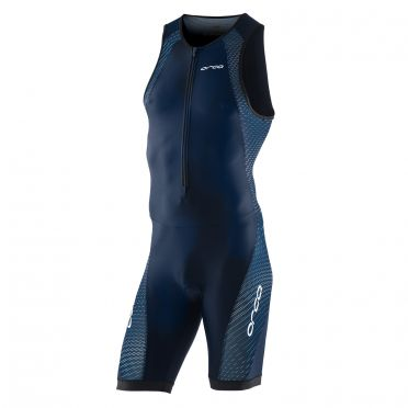 Orca Core Race Trisuit ärmellose Blau Herren