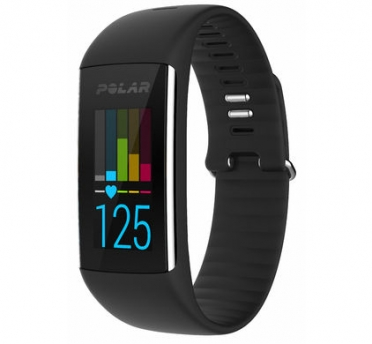 Polar A360 Fitnesstracker Schwarz