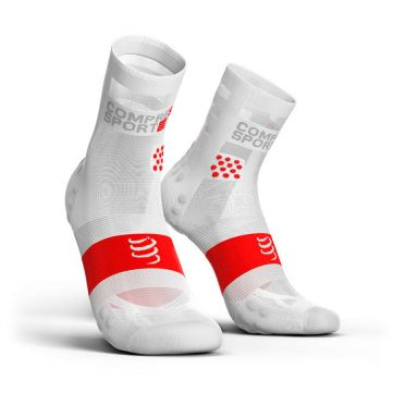 Compressport Pro Racing V3.0 ultralight Laufsocken Weiß