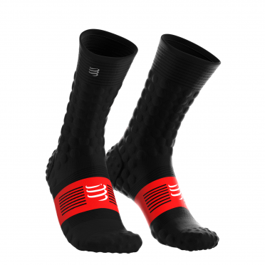 Compressport Pro Racing V3.0 winter Radsocken Schwarz