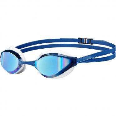 Arena Python mirror Schwimmbrille Blau