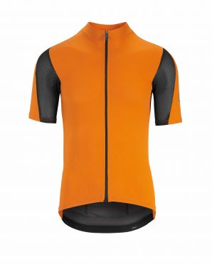 Assos Rally SS Kurzarm Radtrikot Orange Herren