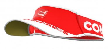 Compressport Ultralight Laufvisor Rot