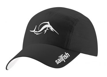 Sailfish Running cap Schwarz