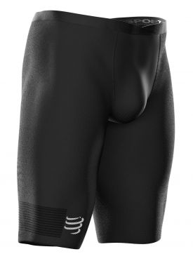 Compressport Under control Compression Laufshort Schwarz Herren