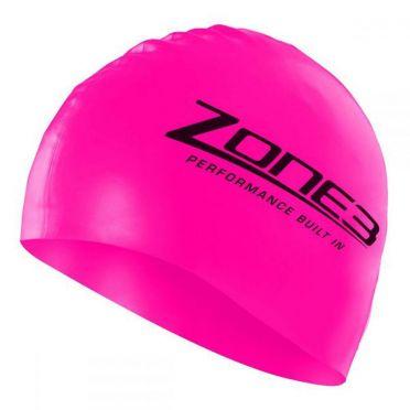 Zone3 Silikon Badekappe Rosa
