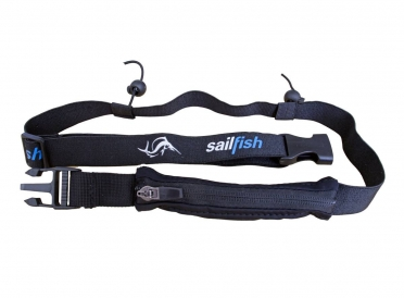 Sailfish Startnummernband Pocket Schwarz