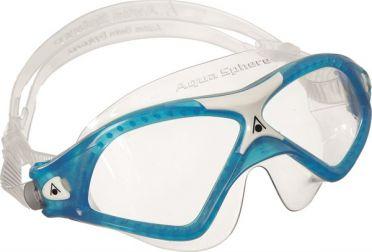 Aqua Sphere Seal XP 2 klare Linse Schwimmbrille Blau
