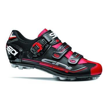 Sidi Eagle 7 MTB Schuhe schwarz/Rot Herren