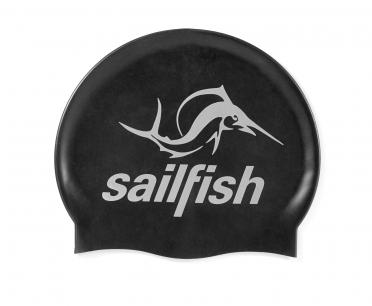 Sailfish Silikon Badekappe Schwarz