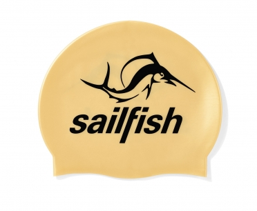 Sailfish Silikon Badekappe Gold