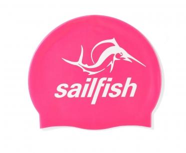 Sailfish Silikon Badekappe Rosa