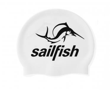 Sailfish Silikon Badekappe Weiß