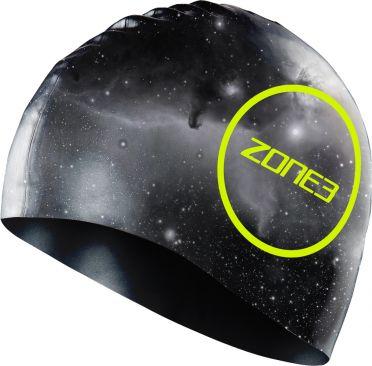 Zone3 Silikon Badekappe Cosmic