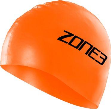 Zone3 Silikon Badekappe Orange