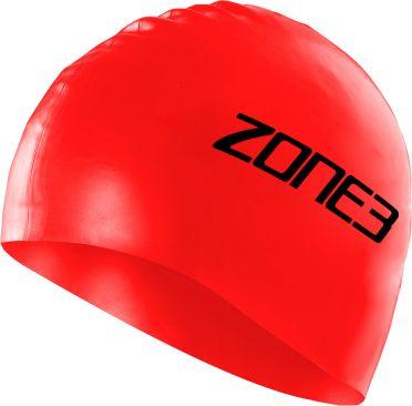 Zone3 Silikon Badekappe Rot