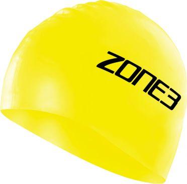Zone3 Silikon Badekappe Gelb