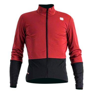 Sportful Total comfort Radjacke Langarm Rot Herren