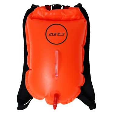 Zone3 Swimrun Rucksack buoy Orange
