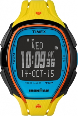 Timex Sleek 150 Block Gelb 46mm