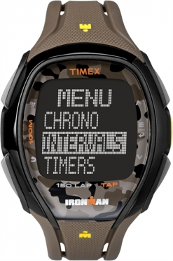 Timex Sleek 150 Camo Braun 46mm