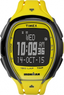 Timex Sleek 150 Neon Gelb 46mm