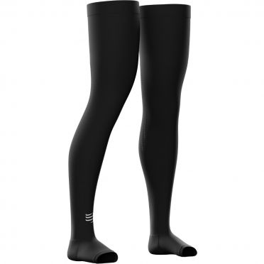 Compressport Total full leg Beinling Schwarz