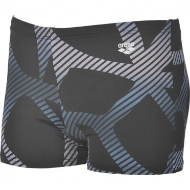Arena Spider Shorts Badehose Schwarz/Weiß Herren