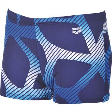Arena Spider Shorts Badehose Blau/Weiß Herren