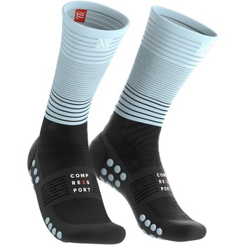 Compressport Mid Compression Socken Oxygen Schwarz/Blau