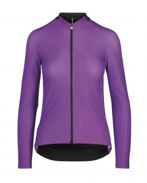 Assos UMA GT spring/fall LS Radtrikot violett damen
