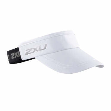 2XU Performance Visor Weiß