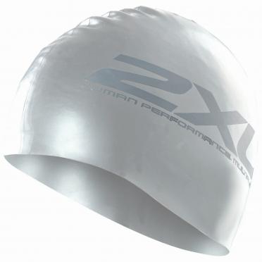 2XU Silikon swim cap Silver