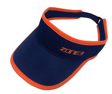 Zone3 Coolmax Race visor Blau/Orange