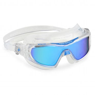 Aqua Sphere Vista Pro multilayer mirror Linse Schwimmbrille Clear/Blau