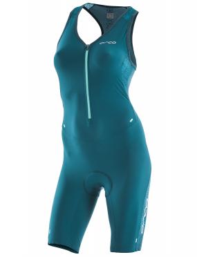 Orca 226 Perform race ärmellos trisuit Blau/Grün Damen