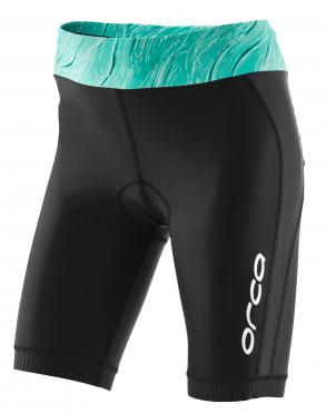 Orca Core tri short Schwarz/Grün Damen