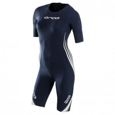 Orca RS1 Kurzarm Swimskin Blau Damen