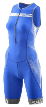Sailfish Competition Trisuit Blau/Weiß damen