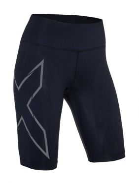 2XU MCS Compression Short Schwarz Damen
